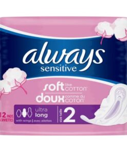 Always Sensitive Ultra Long 12 Pieces
