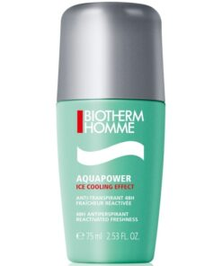 Biotherm Homme Aquapower Ice Cooling Effect 48H Antiperspirant Deo 75 ml