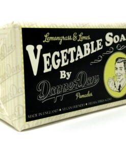 Dapper Dan Lemongrass & Limes Vegatable Soap 190 gr.