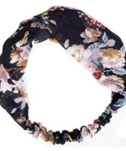 Everneed Annemone Headband W. Colored Flowers (0102)