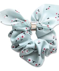 Everneed Bow Scrunchie - Pastel Mint (5235)