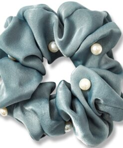 Everneed Pearl Scrunchie - Baltic Blue (1008)