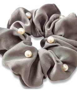 Everneed Pearl Scrunchie - Mirror (1022)