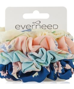 Everneed Scrunchie 4 Pack - Flower (3880)