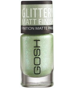 GOSH Frosted Nail Lacquer 8 ml - 09 Frosted Soft Green