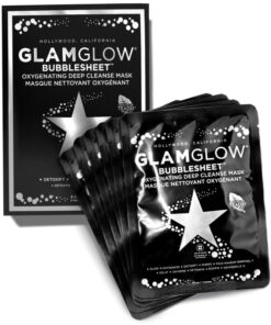 GlamGlow Bubblesheet Oxygenating Deep Cleanse Mask 6 Pieces