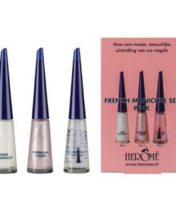 Herome French Manicure Set Pink 3 x 10 ml