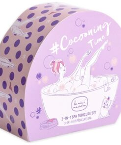 Le Mini Macaron Cocooning Time Spa Pedicure Set
