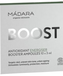 MADARA Boost Antioxidant Energiser Booster Ampoules 10 x 3 ml