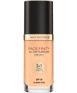 Max Factor Facefinity 3-In-1 Foundation SPF20 30 ml - 44 Warm Ivory