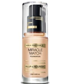 Max Factor Miracle Match Foundation - Light Ivory 40