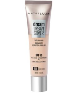 Maybelline Dream Urban Cover Foundation SPF50 30 ml - 111 Cool Ivory