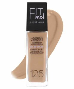 Maybelline Fit Me Luminous + Smooth Foundation - 125 Nude Beige