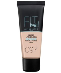 Maybelline Fit Me Matte + Poreless Foundation Normal To Oily 30 ml - 097 Natural Porcelain