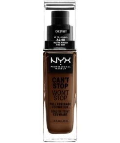 NYX Prof. Makeup Can't Stop Won't Stop Foundation 30 ml - Chestnut (U)