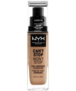 NYX Prof. Makeup Can't Stop Won't Stop Foundation 30 ml - Classic Tan