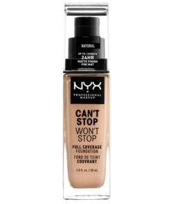 NYX Prof. Makeup Can't Stop Won't Stop Foundation 30 ml - Natural