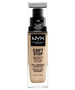NYX Prof. Makeup Can't Stop Won't Stop Foundation 30 ml - Nude (U)