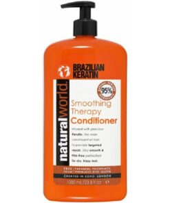 Natural World Smoothing Therapy Brazilian Keratin Conditioner 1000 ml