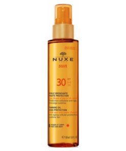 Nuxe Sun Tanning Oil High Protection SPF 30 - 150 ml