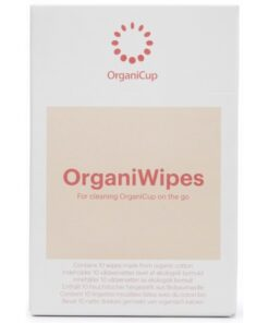 OrganiCup OrganiWipes 10 Pieces