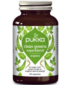 Pukka Clean Greens Capsules 60 Pieces