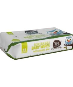 Pure Beginnings Biodegradable Baby Wipes 64 Pieces