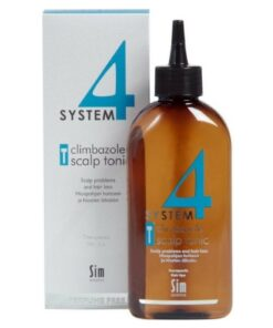 System 4 Climbazole Scalp Tonic T for Scalp Problems and Hair Loss 200 ml (U)