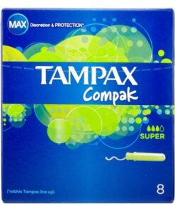 Tampax Compak Super 8 Pieces