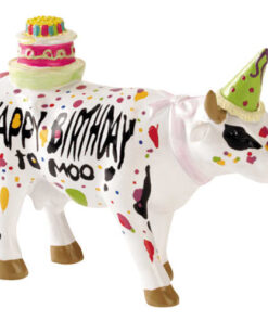 shop CowParade Happy Birthday To Moo af CowParade - shopping hos shoppetur.dk