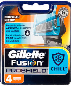 shop Gillette Fusion Proshield Chill 4-pak af Gillette - shopping hos shoppetur.dk