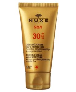 shop Nuxe Delicious Cream High Protection SPF 30 - 50 ml af Nuxe - shopping hos shoppetur.dk