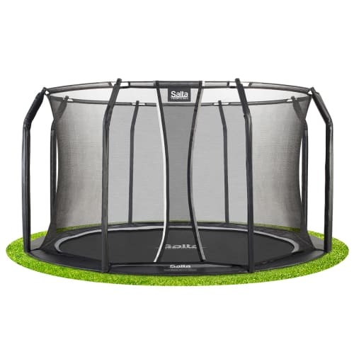 shop Salta trampolin med net - Royal Baseground Inground - Ø 366 cm af Salta - shopping hos shoppetur.dk