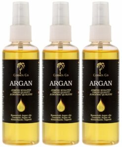 3 x Cosmos Co Argan Oil 100 ml