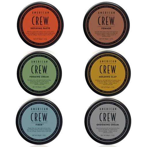 4 x American Crew Voks 85 gr. - Choose Products