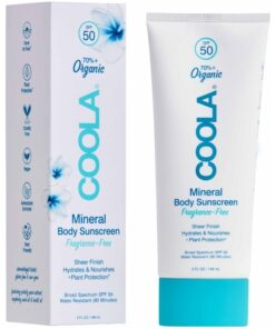 COOLA Mineral Body Sunscreen Fragrance-Free SPF50 - 148 ml