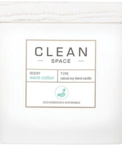 Clean Perfume Space Warm Cotton Candle 227 gr.