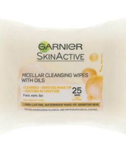 Garnier Skinactive Cleansing Micellar Wipes With Oils 25 Wipes (U)