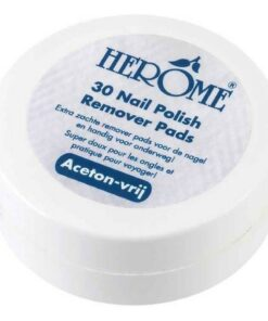 Herome Nail Polish Remover Pads - 30 Pieces