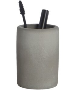 House Doctor Toothbrush Tumbler Cement