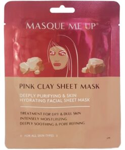 Masque Me Up Pink Clay Mask 1 Piece