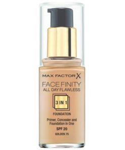 Max Factor Facefinity All Day Flawless 3 In1 Foundation SPF20 - Golden 75