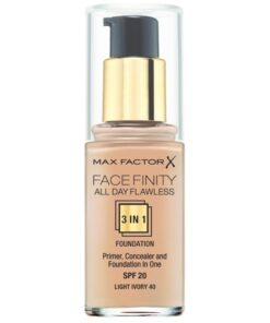 Max Factor Facefinity All Day Flawless 3 In 1 Foundation SPF20 - Ivory 40