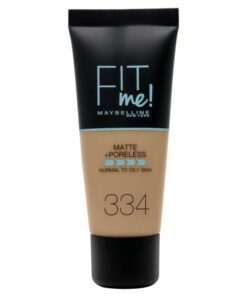 Maybelline Fit Me Matte + Poreless Foundation Normal To Oily 30 ml - 334 Warm Tan