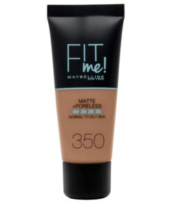 Maybelline Fit Me Matte + Poreless Foundation Normal To Oily 30 ml - 350 Caramel