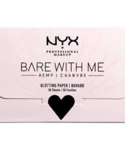 NYX Prof. Makeup Bare With Me Hemp Blotting Paper 50 Sheets
