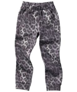 shop Friends sweatpants - Grå med leopardprint af Friends - shopping hos shoppetur.dk