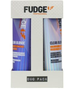 Fudge Clean Blonde Violet-Toning Duo 2 x 250 ml (Limited Edition)