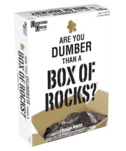 shop Are you dumber than a box of rocks? af Amo Toys - shopping hos shoppetur.dk