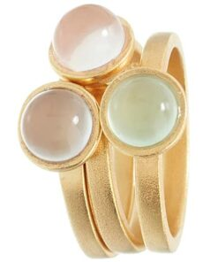 shop Spinning Jewelry ring - Sea Mix - Forgyldt sterlingsølv af Spinning Jewelry - shopping hos shoppetur.dk